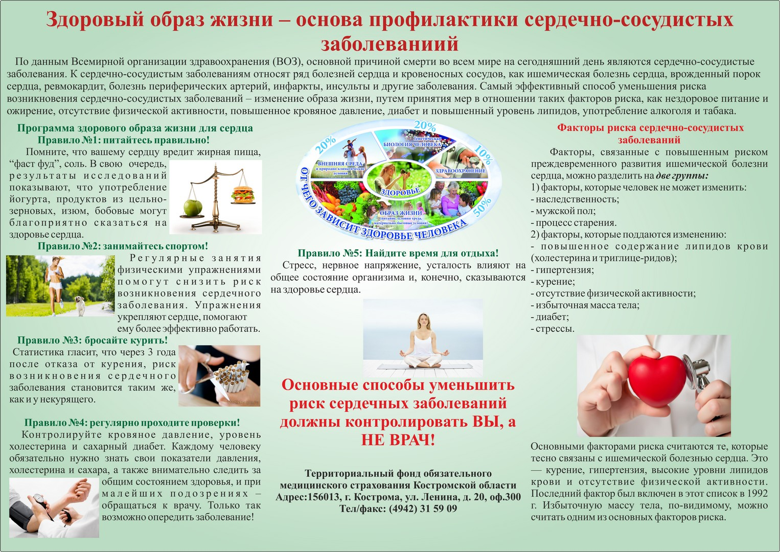Рецепты от сердечно-сосудистых заболеваний